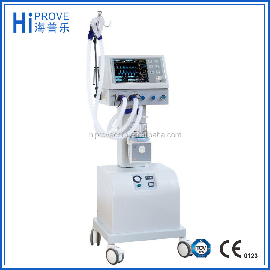 Medical Adult and Pediatric Breathing Machine With Air Compressor