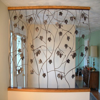 Modern Metal Partition Screens Folder Metal Trees Branch Hollow Room
