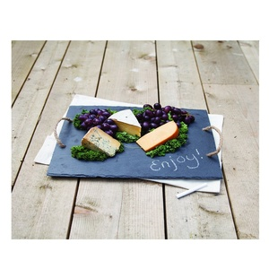 Perfect designs cuisine desserts service tray slate dishes natural stone cheese board