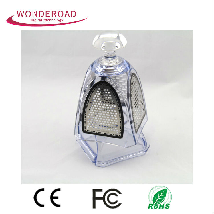Popular Stainless steel acrylic crystal 4 sides stainless steel vegetable grater