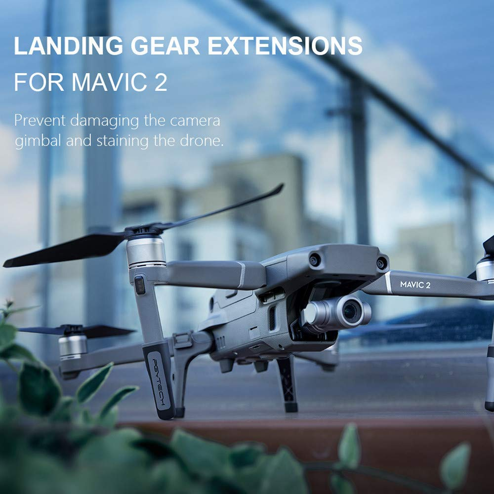 37503a8da48 Get Quotations · Iusun Landing Gear Extensions for Mavic 2 Series,  Accessories Extended Heighten Landing Gear Leg Support