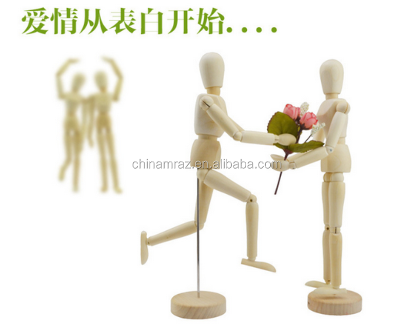 2016 online shopping wooden manikin dummy