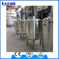 Stainless steel mixing tank for food industries with 23 years histories