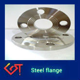 steel flange , flange to electric motor