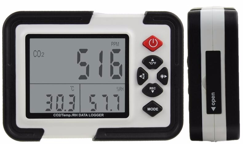 "3.5"" CO2 meter/CO2 Gas Detector Air Quality Analyzers with LCD Display Backlight and Factory Price"