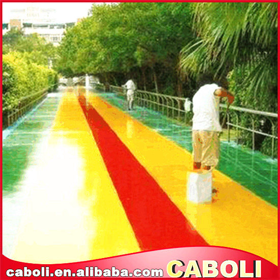 Anti Slip Outdoor Multi Color Spray Rubber Floor Paint/playground Paint