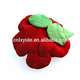 soft plush rose flower hold pillow sofa decoration cushion