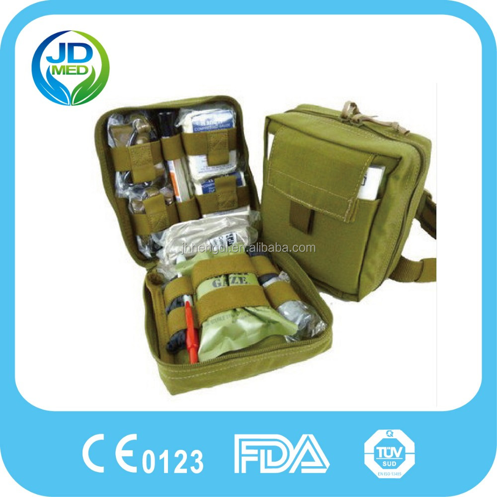 Surgical Instrument Kit Survival Emergency First Aid Military Case