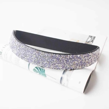 fashion Vintage colorful rhinestone elastic band belt