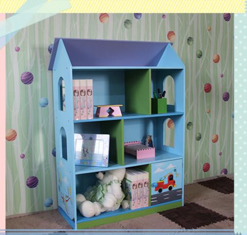 deluxe en bois enfants poup es maison biblioth que en enfants meubles autres meubles pour. Black Bedroom Furniture Sets. Home Design Ideas