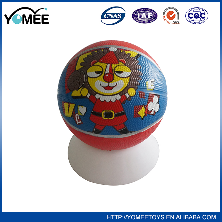 Factory Supply Attractive Price Rubber Mini Basketball