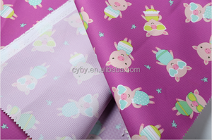 Hot travel luggage bag and travel bag fabric fabric pu coated fabric
