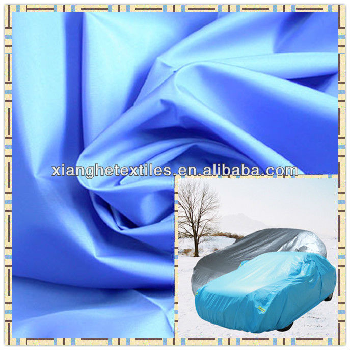 breathable coated woven fabric for car cover car body cover fabric