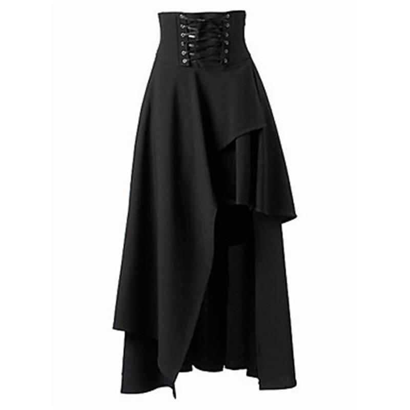 New Black Grey Pink White tartan Check Lace Skirt Lolita Punk Party All sizes