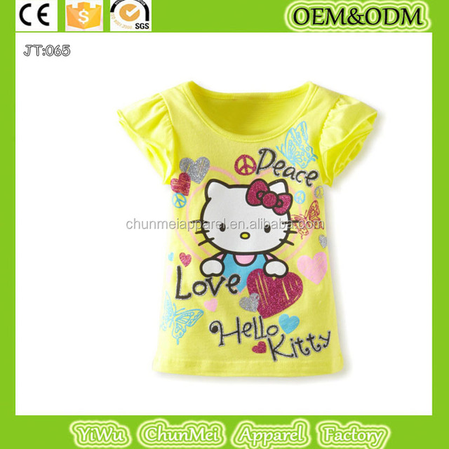 2015 wholesale girls t shirt yuanwenjun com