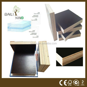 film faced plywood to kerala, waterproof film faced plywood/black film, 8mm melamine red film faced plywood for construction