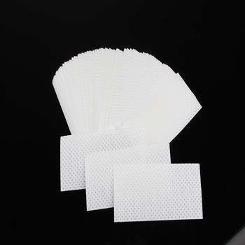 160mmX70mm White Water Absorbent Paper With Holes For Seafood, Meat, Fruit And Vegetables
