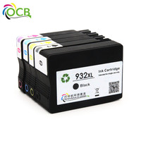 OCBESTJET free samples remaufactured printer ink cartridge For HP 932XL 933XL inkjet printer