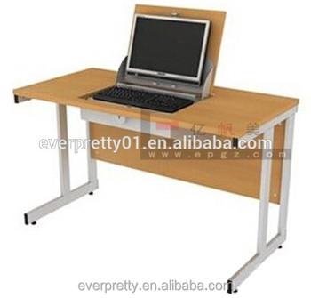 School Computer Classroom Simple Mobile Wooden Low Price