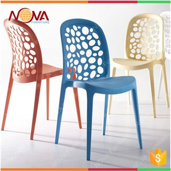 China Manufacturer White Plastic Banquet Chair Simple Design Stacking Chairs