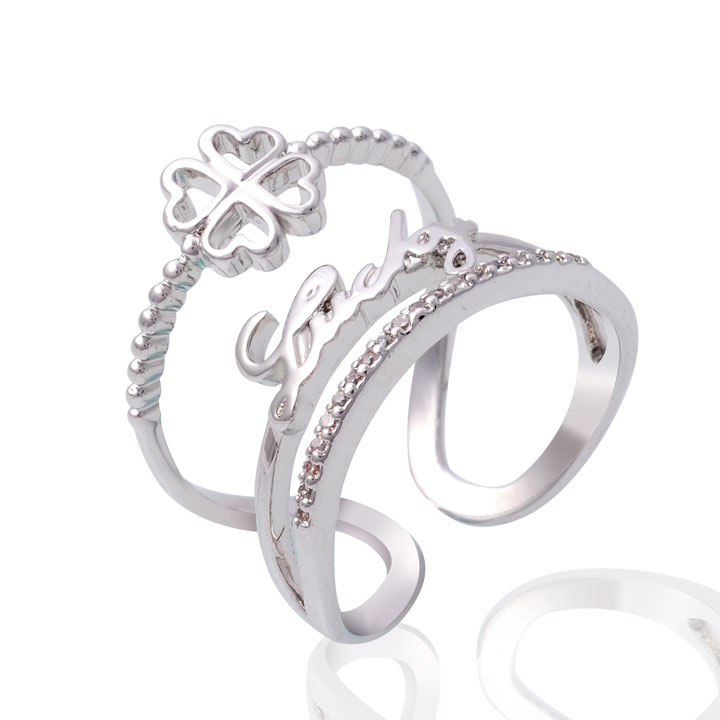 Adjustable Simple Knuckle Ring for Women