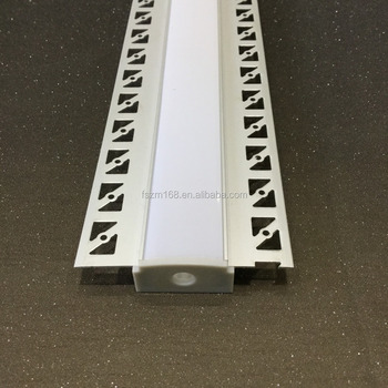 61*14mm Led Strip Channels Plaster Aluminum Glass U Channel Architectural  Gypsum Plaster - Buy Led Aluminum Profile,Plaster/gypsum Recessed
