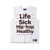 Muscle Fit Gym Custom Tank Top OEM Screen Printed Logo Good Quality
