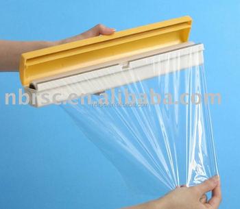 Kitchen Plastic Wrap Dispensers Plastic Wrap Aluminum Foil Cutter