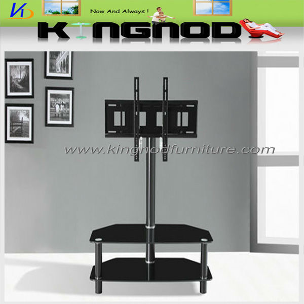 tempered painted metal tubes TV stand
