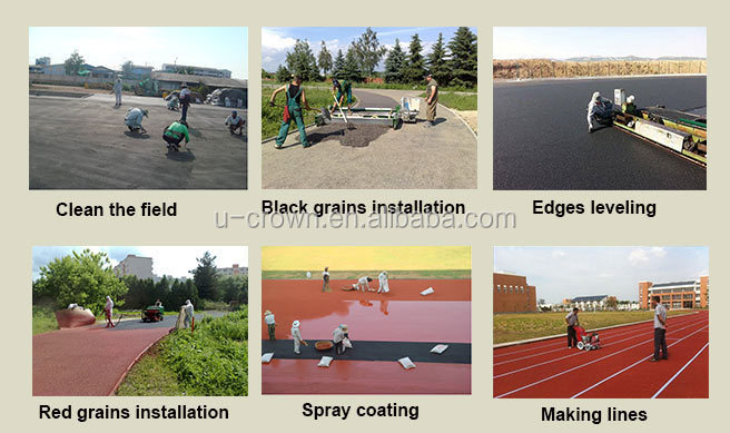 Rubber Mats /rubber Running Track Material,Rubber Running Track ...