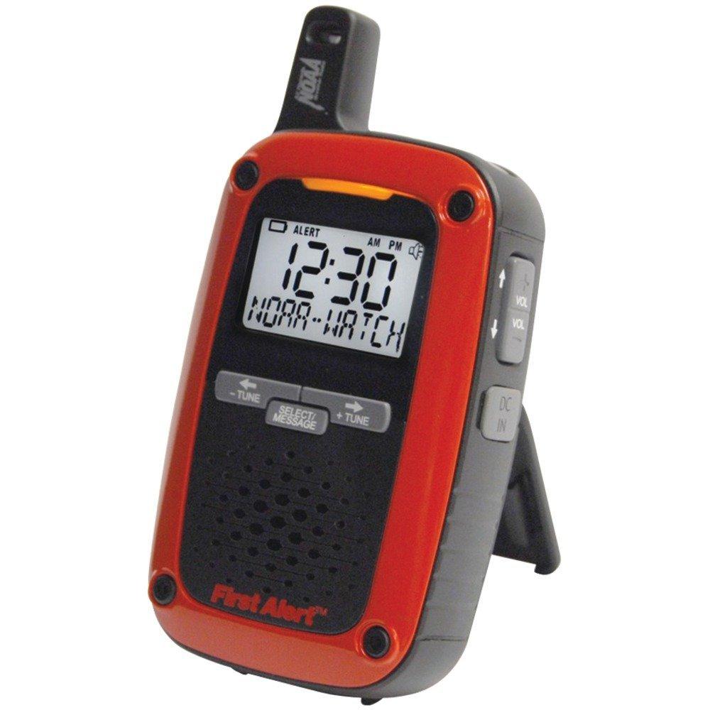 PORT AM/FM WEATHER RADIO, Portable AM/FM Digital Weather Radio with SAME Weather Alert, Receives instant 24-hour weather, marine forecast & weather-alert information broadcasts on 7 weather-band fr…