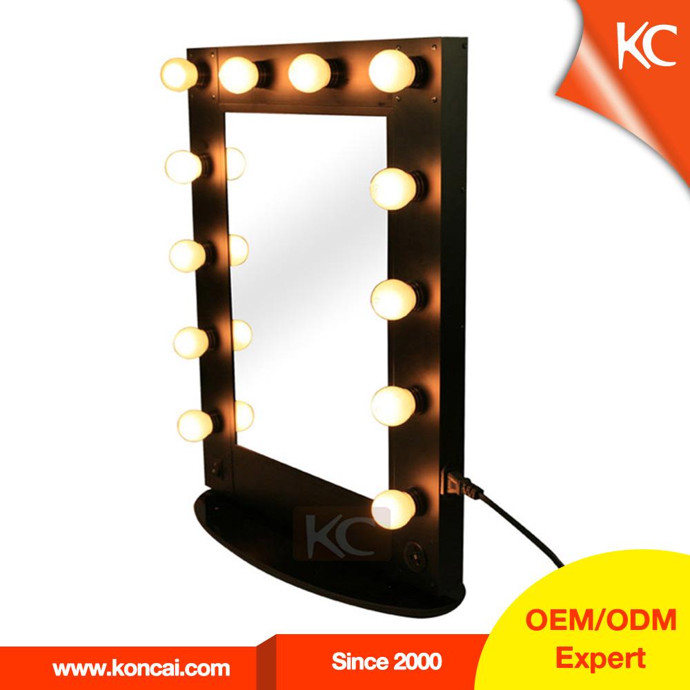clairage professionnel miroir de maquillage miroir grossissant miroir debout avec cadre en. Black Bedroom Furniture Sets. Home Design Ideas