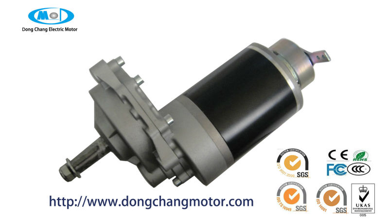 ev car motor / 12v dc motor with gear reduction 24v dc gear motor