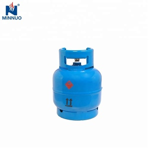 3KG empty LPG Gas Cylinder for camping