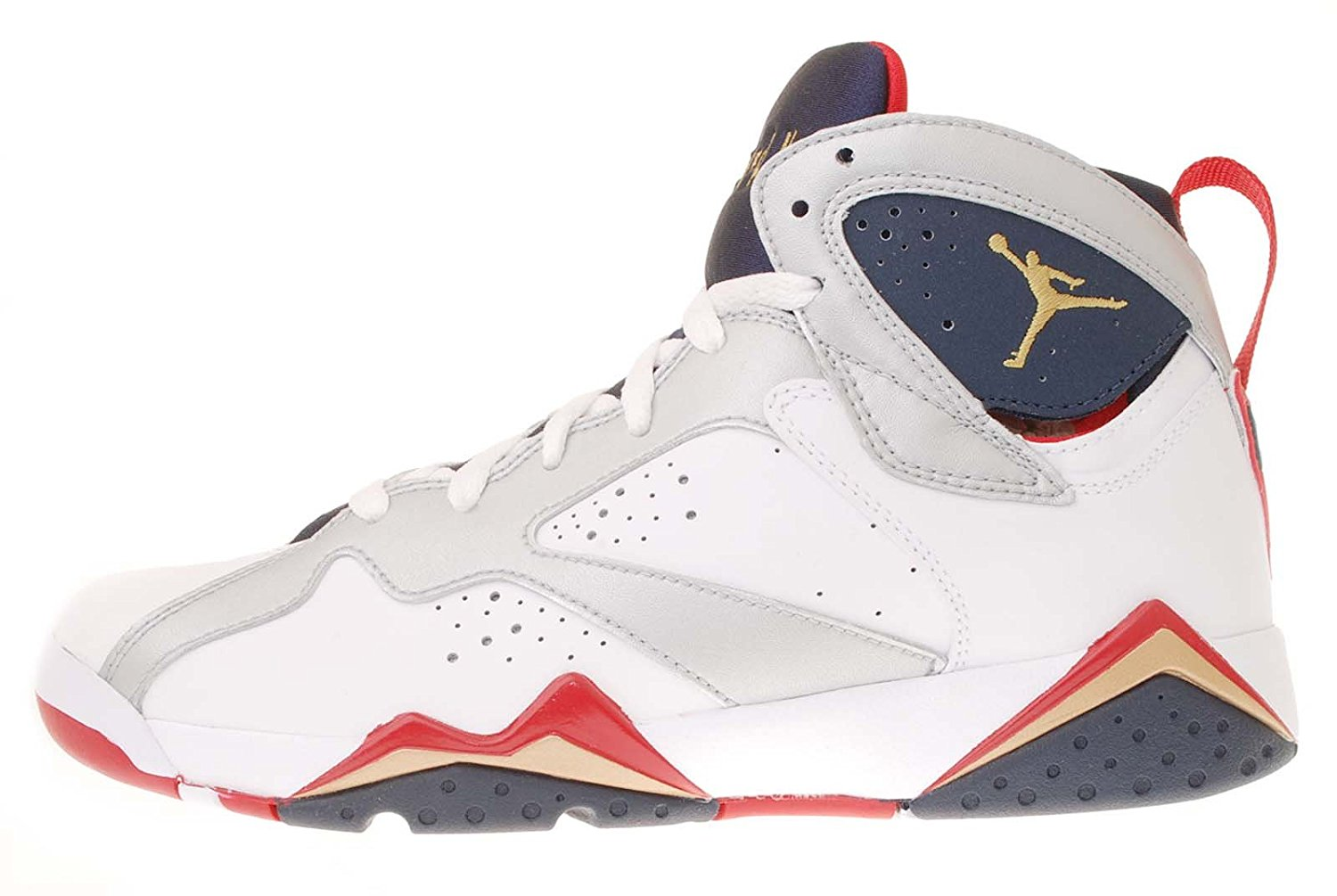 42b64b3e29d7 Nike Air Jordan 7 VII Retro GS Olympic Edition White 2012 Youth Kid 9  304774135