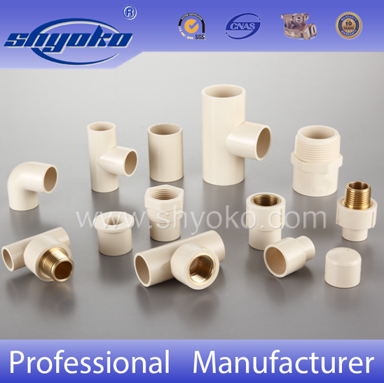 China cpvc fittings astm d2846 cpvc equal tee for hot for Cpvc hot water