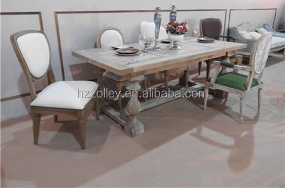 Tavoli Sala Da Pranzo In Legno : Antico set sala da pranzo tavolo da pranzo in rovere di legno di