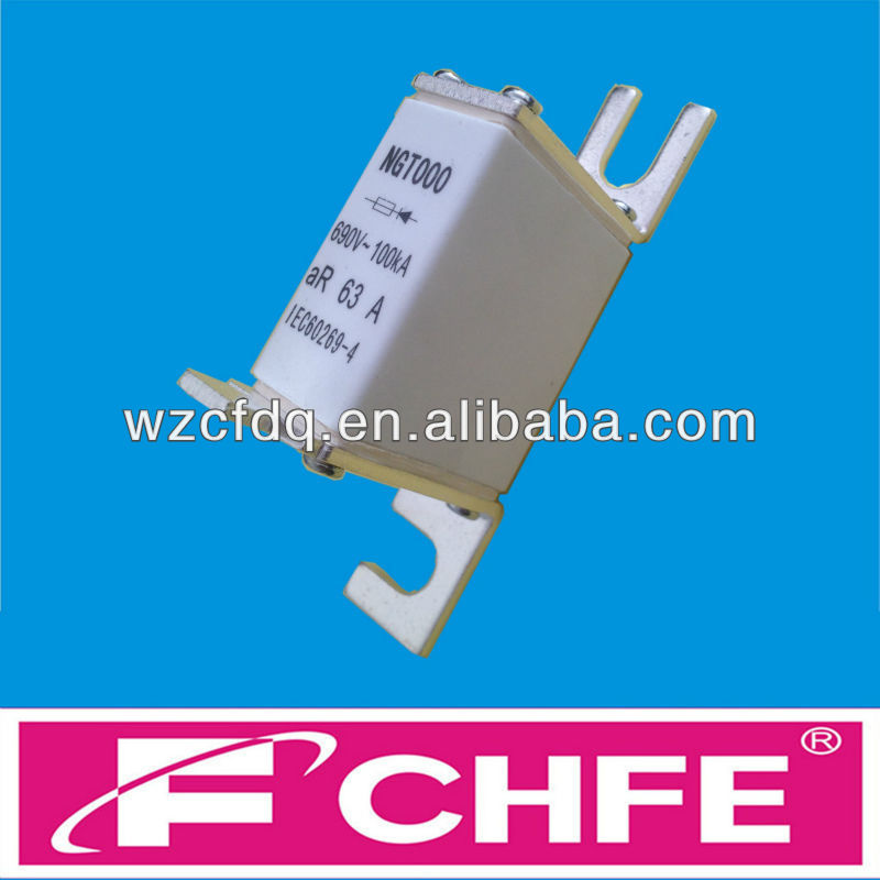 CHFE semiconductor fuse of aR type