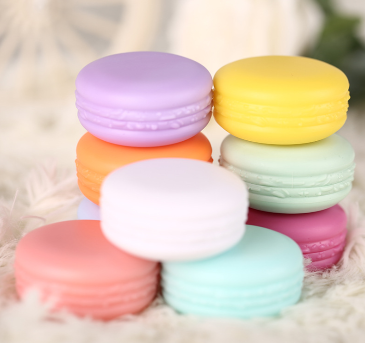 5g 10g PP plastik macaron berbentuk mini jar Kosong colorful eye shadow Lip balm Sampel guci krim wadah untuk gel