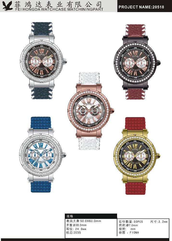 53b3d87170fc2 A forma Das Mulheres Vestido Relógio de Quartzo Pulseira relógio de Pulso Feminino  Relógio Melhor Presente