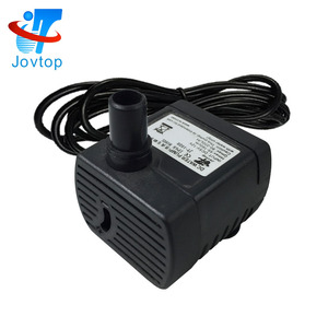 JOVTOP JT-1020 Fountain Mini Water Pump 12v DC Micro Brushless Submersible Pump 6v for garden
