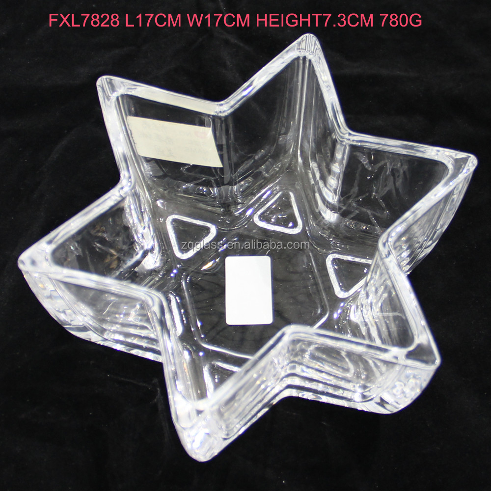 Israel Sign Symbol Solomon's Seal Jewish Six Mans Magen Shield of David Star Shape Glass Candle Holder Candleholder Container