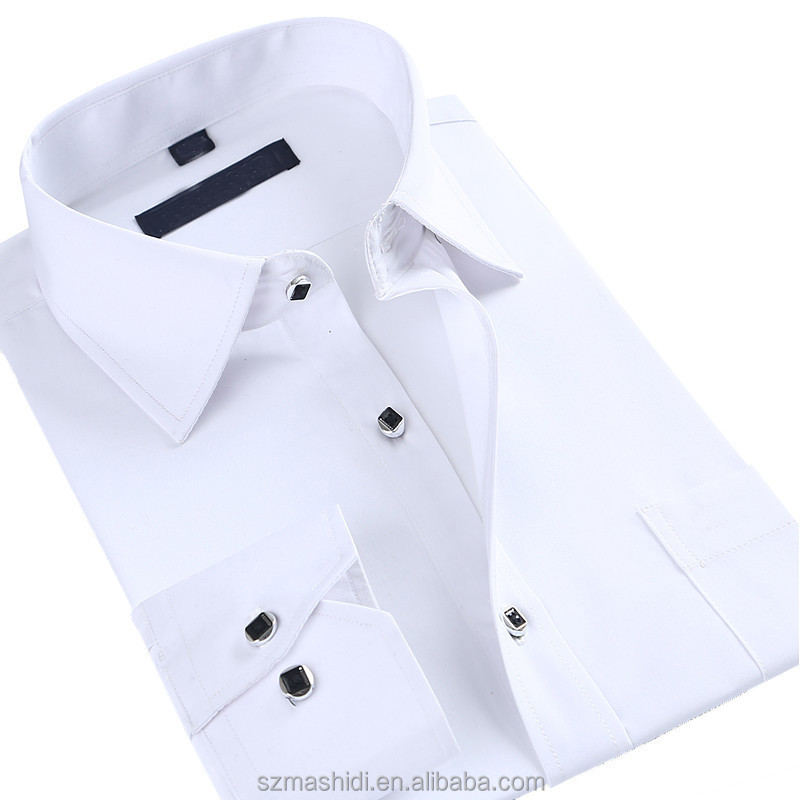 Formal Stylish Shirt Thick White Shirts Designs - Buy Formal ...