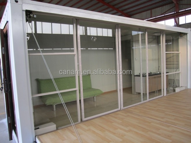Container living house finished container house