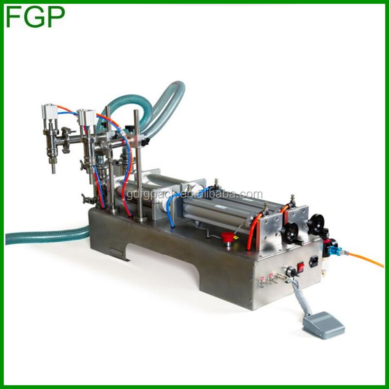 China supply OEM double heads bottle filling machine for mineral water , juice,oil,perfume,suck beverage filling machine,drink