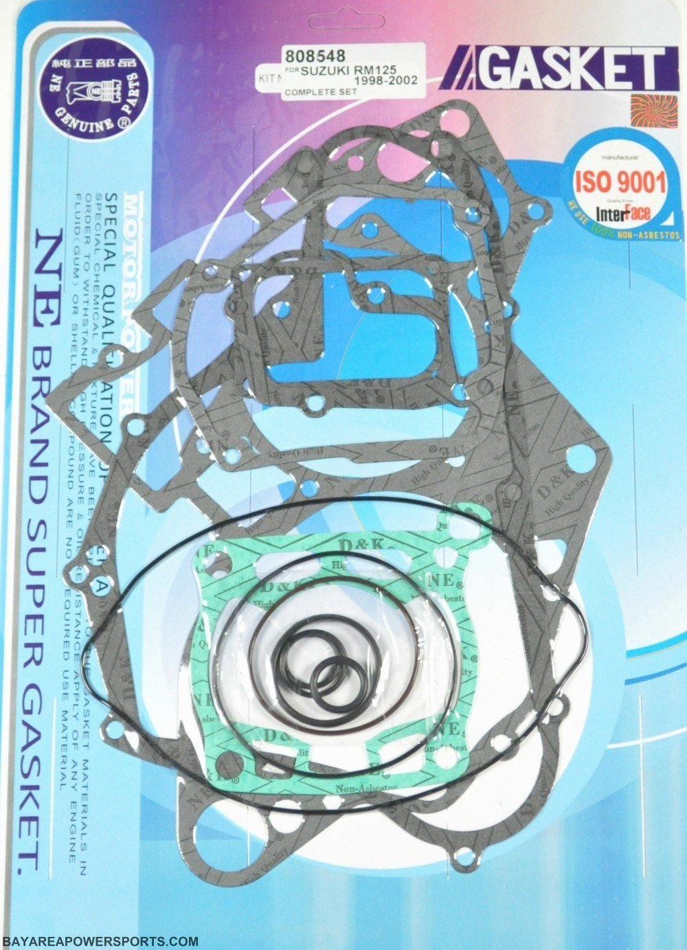 Cheap Rm 85 Engine Find Deals On Line At Alibabacom Diagram Of Suzuki Motorcycle Parts 2004 Rm65 Cover Get Quotations 757 Complete Rebuild Gasket Kit Rm125 125 1998 1999 2000