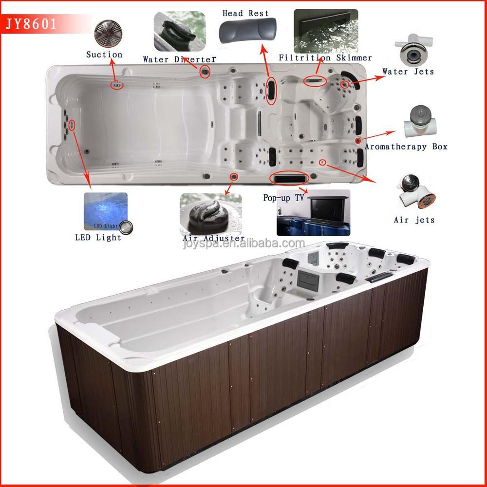 Jy8601 Whirlpool Bath Tub Control Panel Boad Whirlpool Outdoor Spa Dual Zone Outdoor Spa