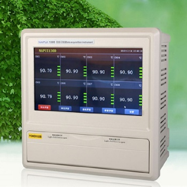 Temperature recorder with k type thermocouple, pressure data logger