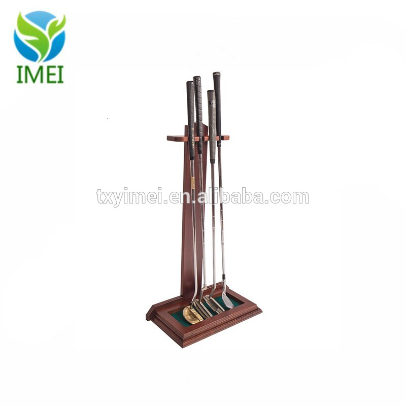 Shop Store Golf Club Floor Display Wood Display Stand IMEI18153