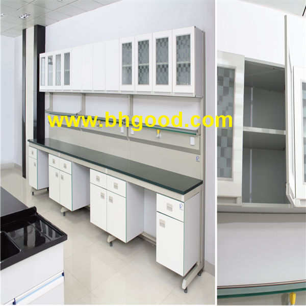 high school acid resistant lab furniture, chemistry lab table tops
